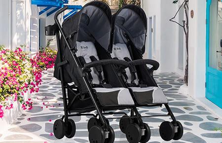 Los mejores carritos de bebe gemelares
